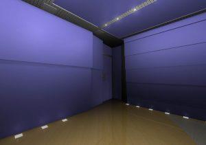 Дизайн 4 - Вид на заднюю стену. Вход в студию.