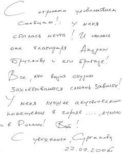 Отзыв Светланы Сургановой