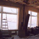 В звукоизоляционный контур будет вставлено стекло, 35мм с наклоном по двум плоскостям.