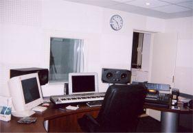 Вид на место звукорежиссёра