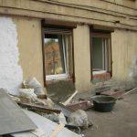 Одно окно заложили и установили новые окна.