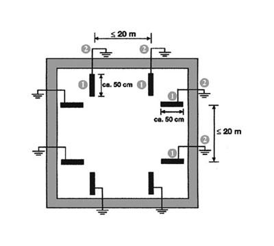 Электропитание и освещение (рис 1)