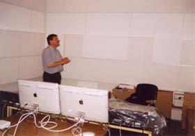 Акустическая отделка аппаратной под PRO-TOOLS.