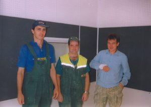 Студия на радио Арбат. Ловкие парни из третьей ремонтной бригады.