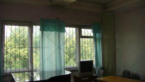 Обычные, дребезжащие советсткие окна .