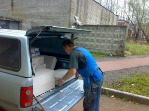 Начали работать, машина Вячеслава Распопова (технического директора Радио Шансон) тоже работает на все 100