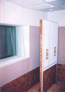 Блок дополнительной звукоизоляции для дверного проёма.
