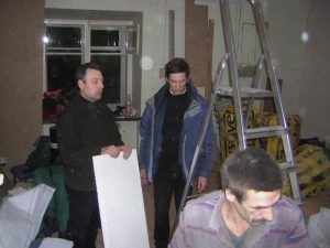 Сергей Царский (звукорежиссёр КЗЧ) - с самого начала в гуще происходящего.