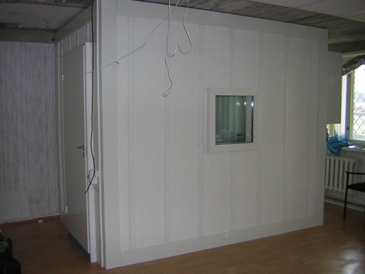 Кабина 2м(ширина)х3м(длина)х2,6м(высота) - готова.