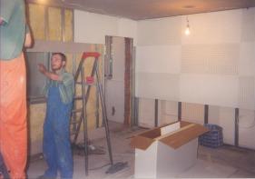 Строительство студии звукозаписи - всё очень серьёзно